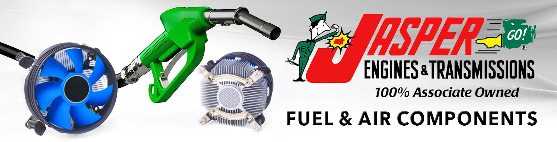 JASPER Fuel & Air Components Banner